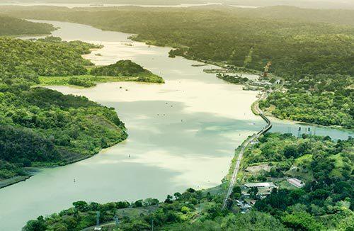 Casco antiguo y canal de Panamá