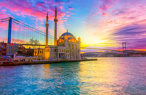 Istanbul classic and dolmabahce palace