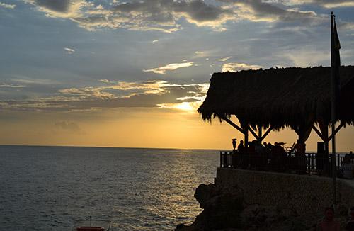 Negril Beach + Ricks Café