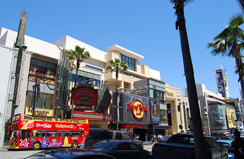Hard Rock Café Hollywood Boulevard