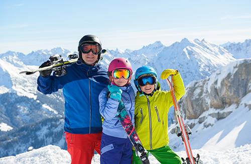 Tour panorámico a la estación de esquí de Farellones.