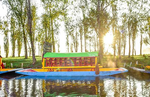 Xochimilco con transporte