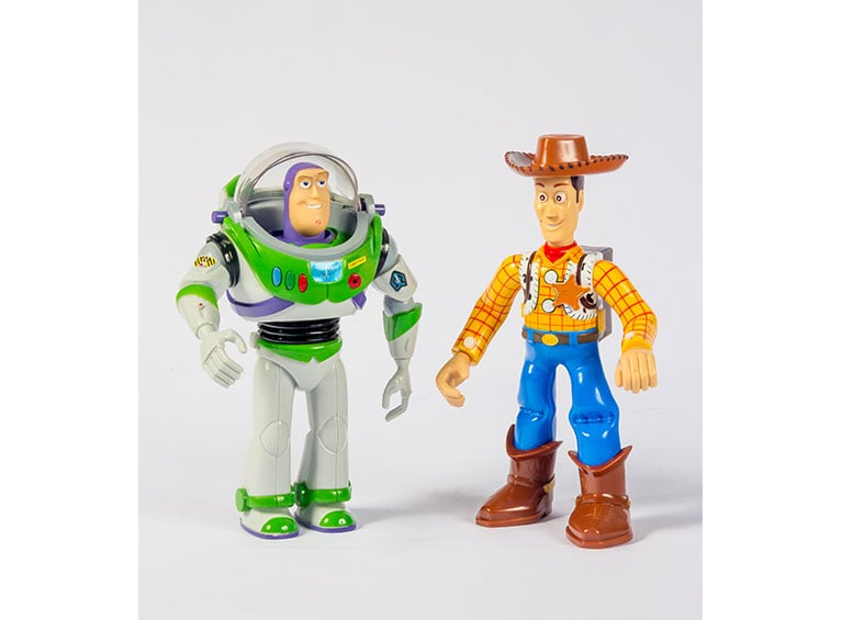 Walkie Talkie Buzz y Woody