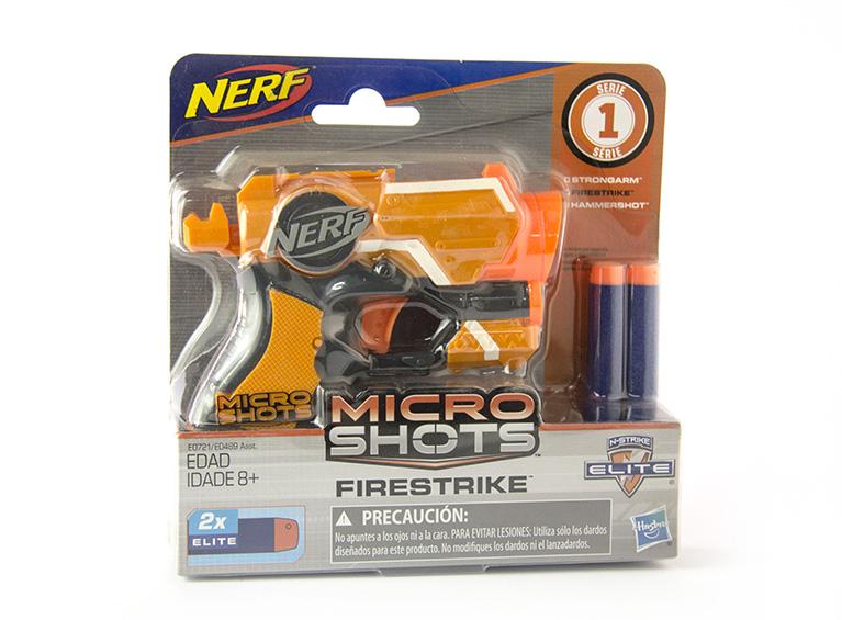 Lanzador Nerf Microshots