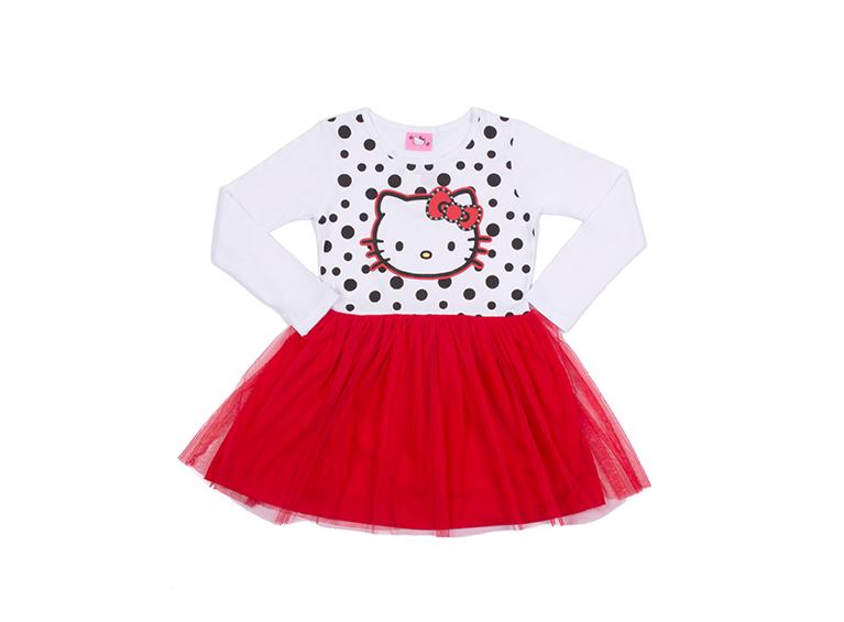 Vestido infantil Hello Kitty