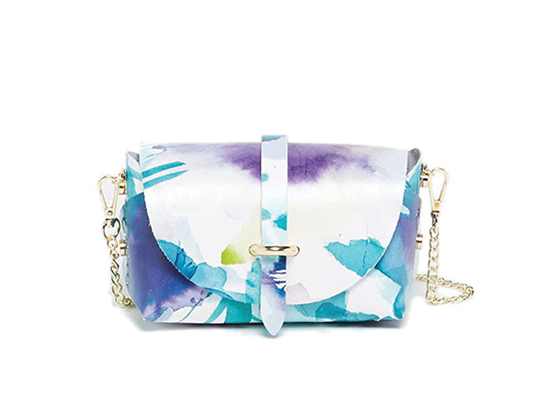 Cartera Zephyrf estampada