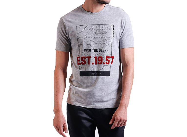 Camiseta slim Into the Deep
