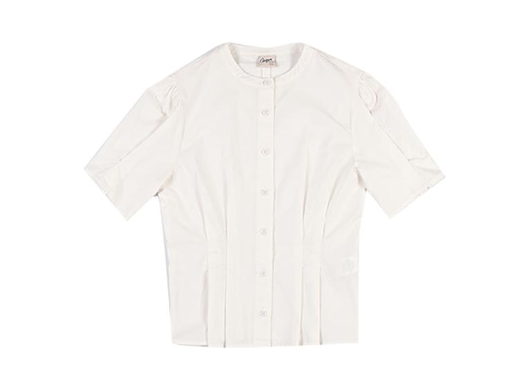 Camisa básica ceñida al cuerpo
